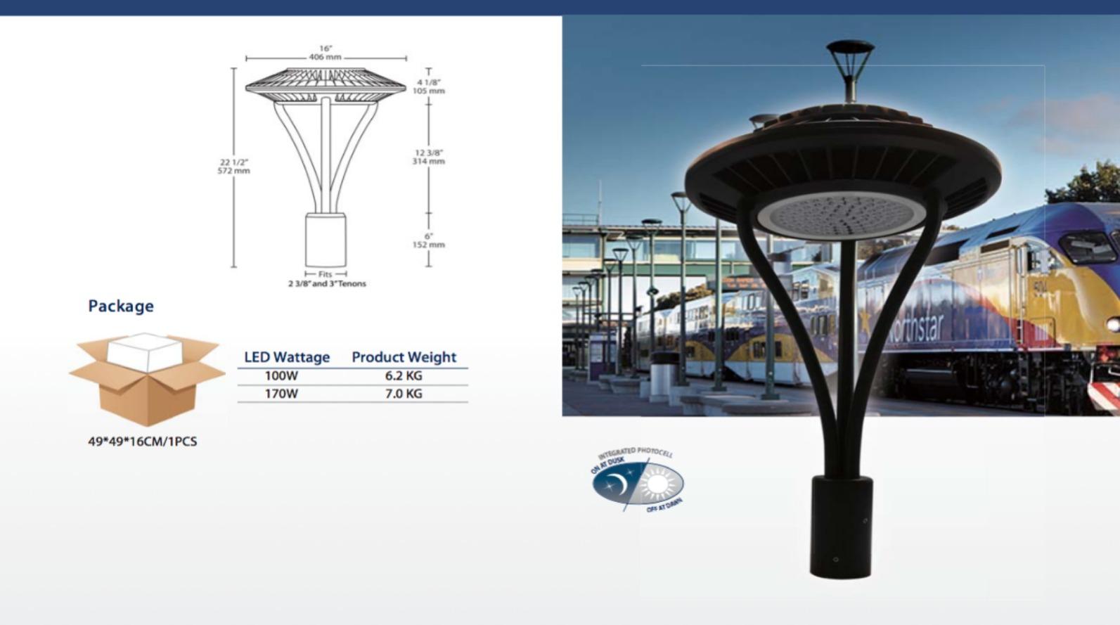 Luminaires del pour voies de circulation autoroute et for Luminaire exterieur decoratif